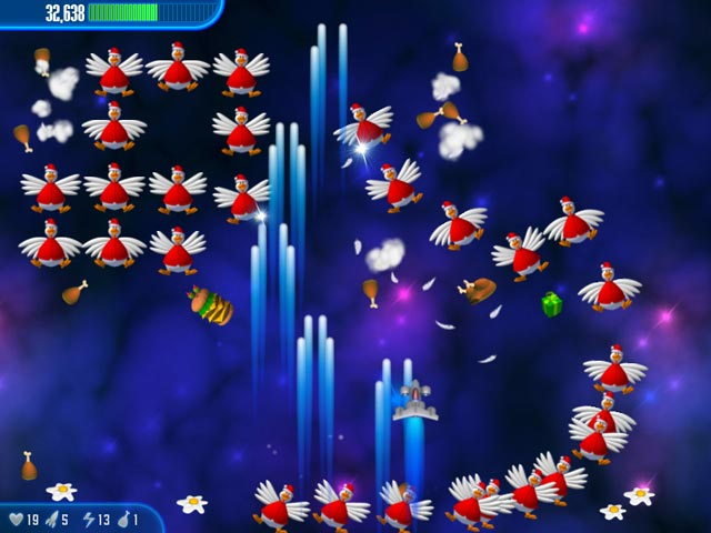 Image Chicken Invaders 3 Christmas Edition