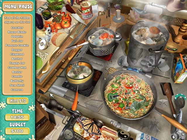 Image Cooking Quest