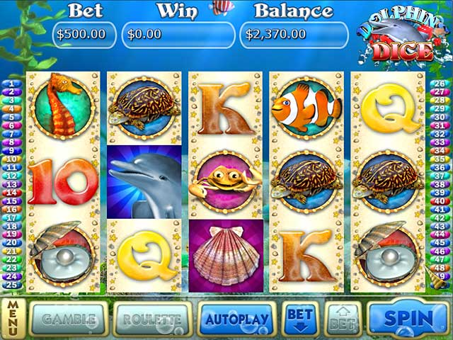 Image Dolphin Dice Slots