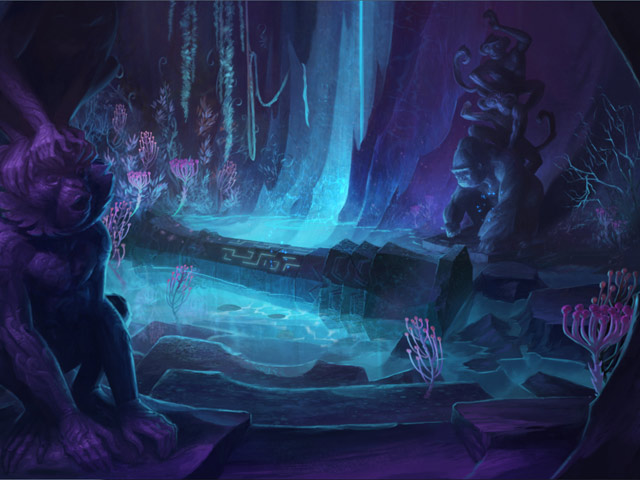 Image Drawn: Trail of Shadows Collector's Edition