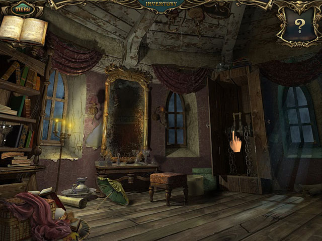 Image Echoes of the Past: The Castle of Shadows