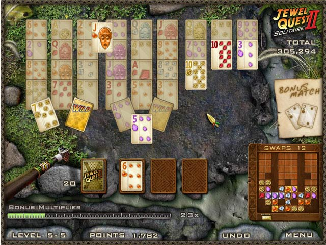 Image Jewel Quest Solitaire II