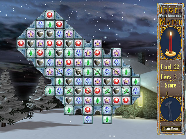 Image Jewel Match - Winter Wonderland