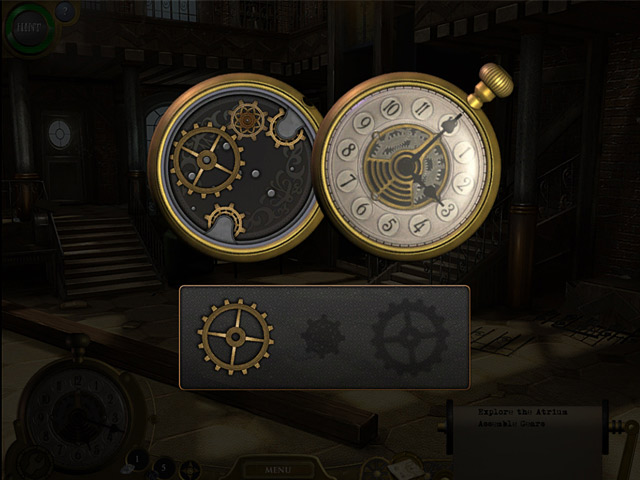 Image Lost in Time: The Clockwork Tower