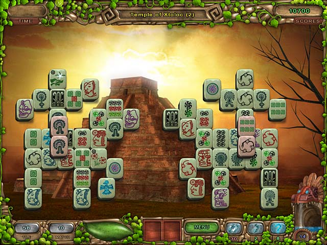 Image Mahjong Legacy of the Toltecs