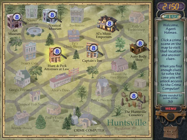 Image Mystery Case Files: Huntsville