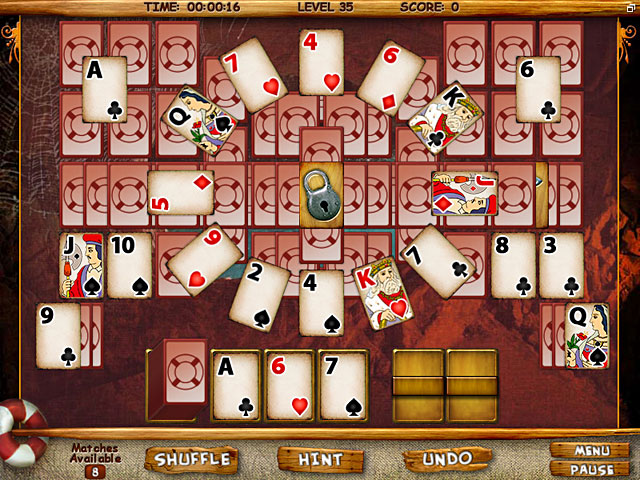 Image Mystery Solitaire: Secret Island