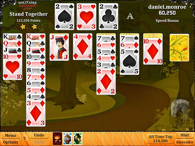 Image Solitaire Kingdom Quest