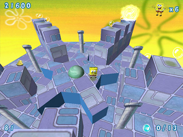 Image SpongeBob SquarePants Obstacle Odyssey 2