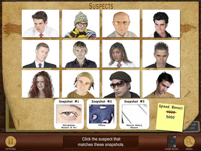 Image Suspects and Clues