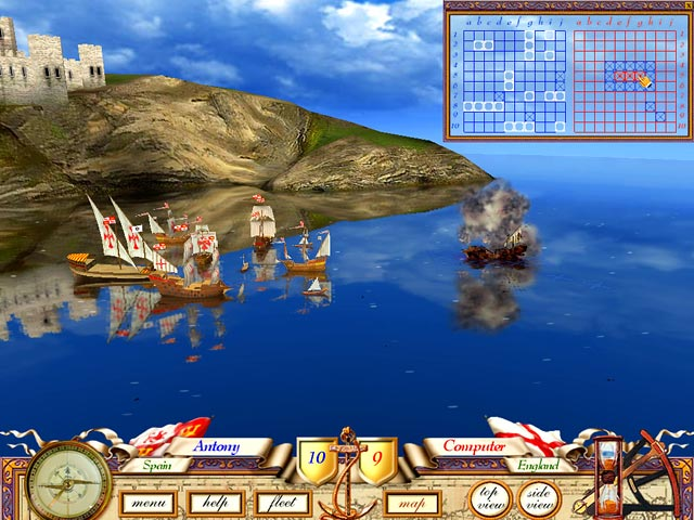 Image The Great Sea Battle: The Game of Battleship