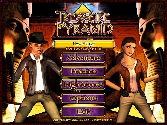 Image Treasure Pyramid