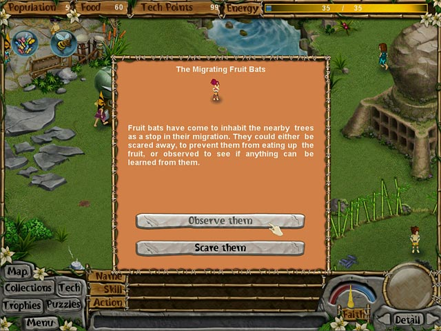 Image Virtual Villagers: New Believers
