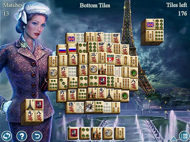 Image World's Greatest Cities Mahjong