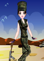 Image Army Girl Dressup
