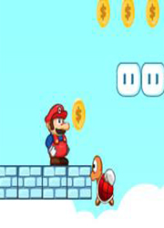 Image Mario Adventure on Cloud