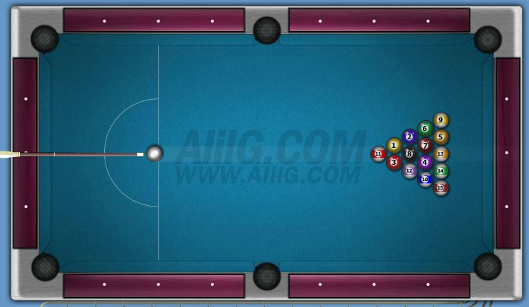 Image AlilG Multiplayer Eight-ball 8-Ball Billiard