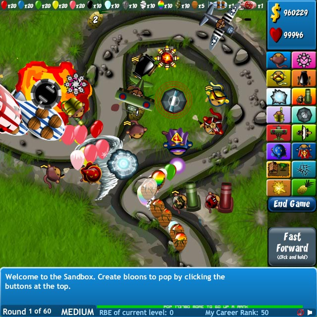 Image Bloons Tower Defense 4