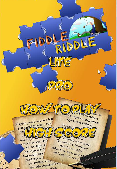 Image FIDDLE RIDDLE