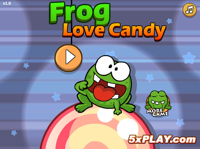 Image Frog Love Candy