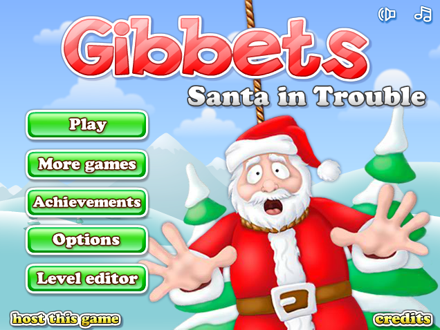Image Gibbets: Santa in Trouble