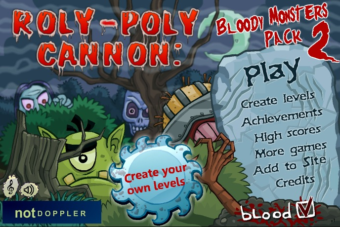 Image Roly-Poly Cannon: Bloody Monsters Pack 2