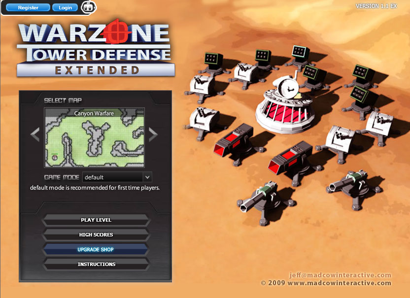 Image Warzone Tower Defense Extended