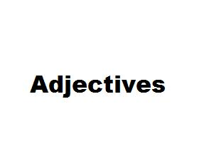 Image Paul's Adjective Game