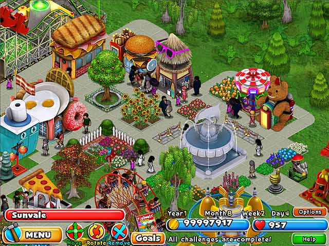Image Dream Builder: Amusement Park
