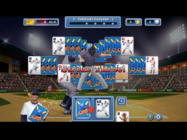 Image Home Run Solitaire
