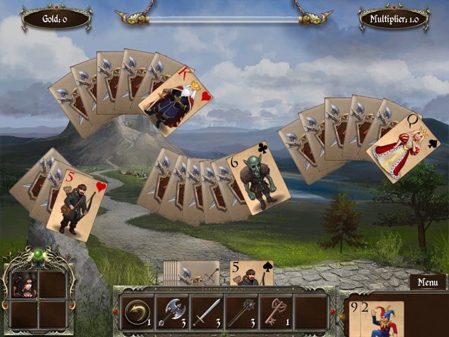 Image Legends of Solitaire: Curse of the Dragons