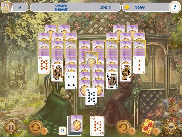Image Solitaire Victorian Picnic 2