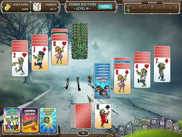Image Zombie Solitaire