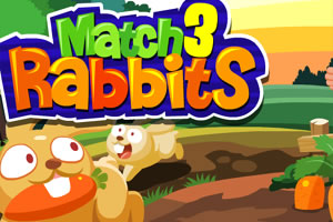 Image Match 3 Rabbits