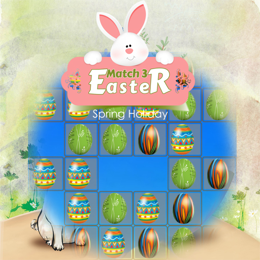 Easter Eggs Match 3 Deluxe