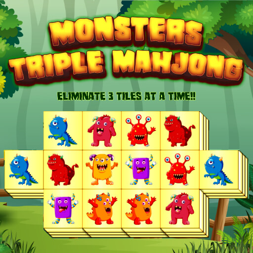 Monster Triple Mahjong