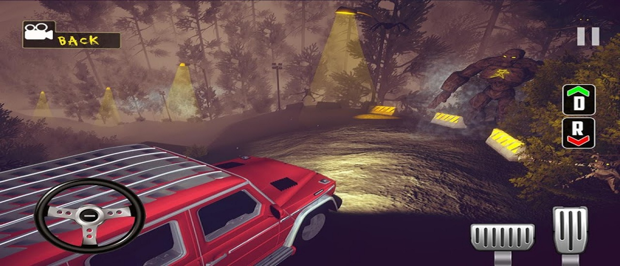 Scary Car Driving Sim: Horror Adventure Game