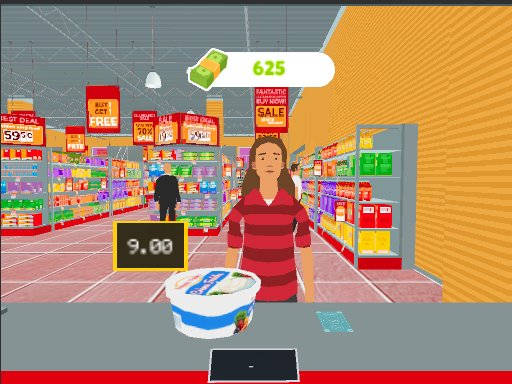 Market Shopping Simulator