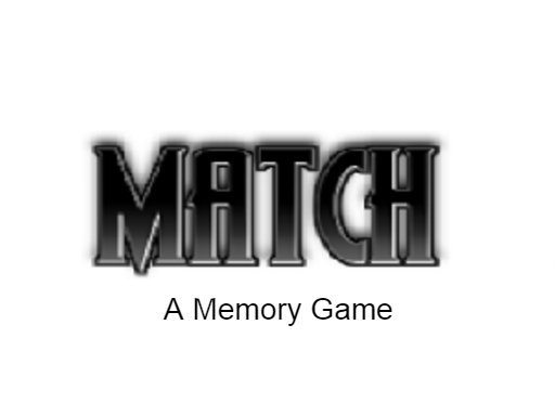 Match – A memory game