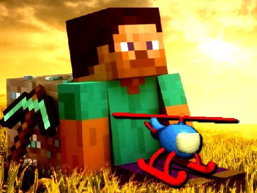 Minecraft Helicopter Adventure