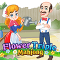 Flower Triple Mahjong