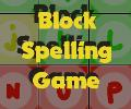 Block Spelling game