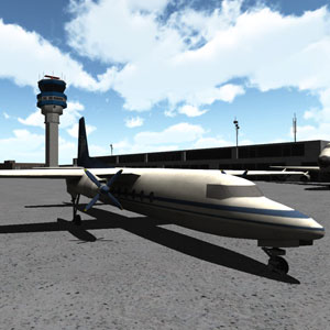 Image Airport Parking 3D